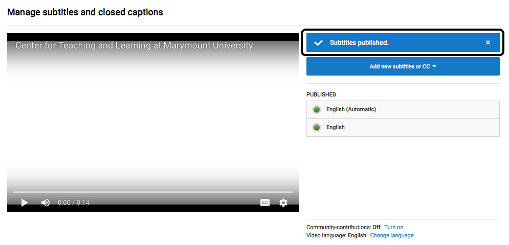 Transcribe and Auto-sync Closed Captions in YouTube   Web