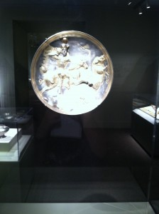 Silver Ware from Ancient Iran (Image by Kadie Aaron)