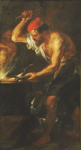 Vulcan by Rubens, the Prado Museum, via Wikimedia Commons
