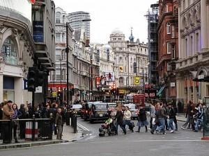 London street scene by Sue Bell via http://maristcad.wordpress.com