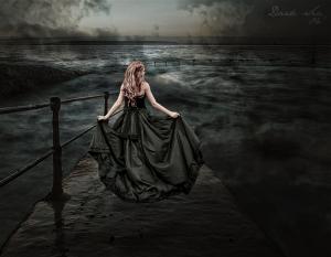 Dark Sea by FlaktiGFX, via deviantART.