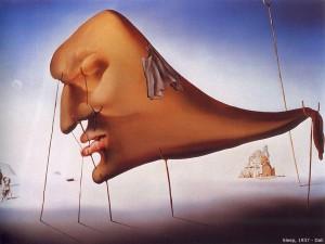 """Sleep"" by Salvador Dali, deshow.net"