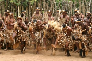 """Zulu Cultural Dance"", Creator: Unknown, African Bound Adventures"