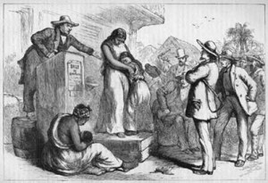 """Slave Auction"", Creator: Unknown, Crooks and Liars"