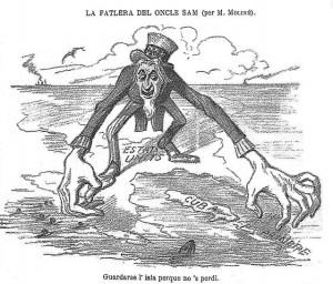 """La fallera de l'oncle Sam"", Creator: Capsot, Wikimedia Commons"