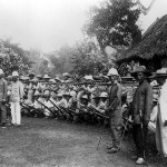 """Filipino Soldiers Outside Manila 1899"", Creator: Unknown, Wikimedia Commons"