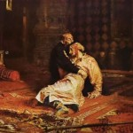 """Ivan the Terrible and His Son Ivan on November 16, 1581"", Creator: Ilya Yefimovich Repin, Artilim, Online Art Gallery"