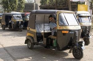 """Auto Rickshaw Driver"", Creator: Dey, The City Fix"