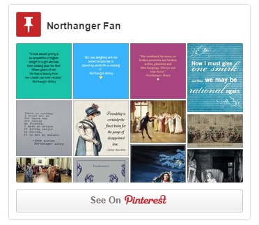 Experiencing northanger abbey social media pinterestpic ccuart Gallery