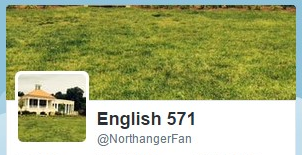Experiencing northanger abbey social media twitter ccuart Gallery