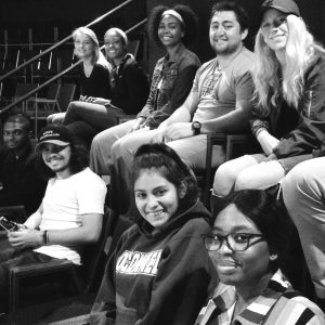 Students in Dr. Rippy's EN321 course attend a play in Alexandria