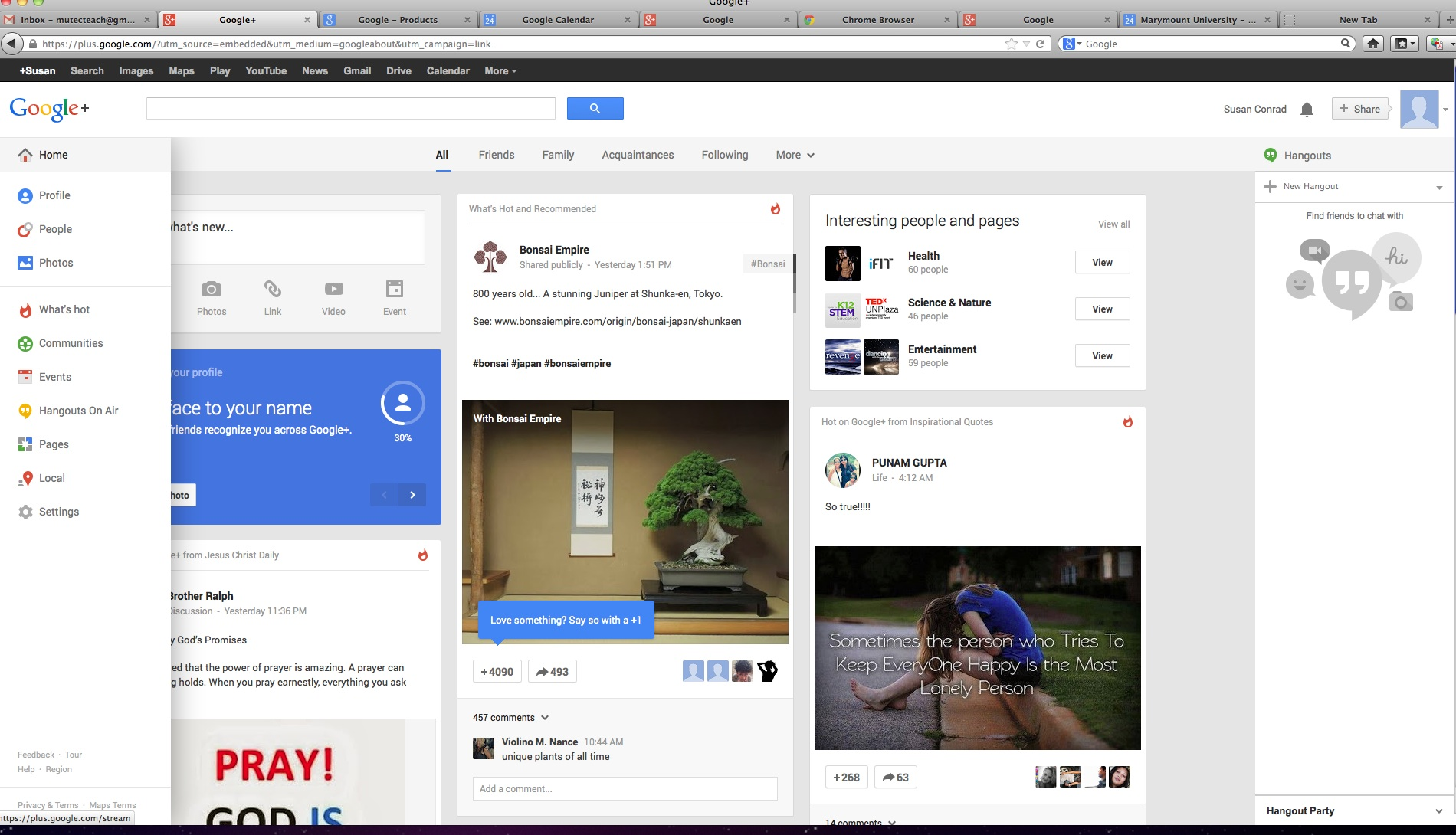 Google + & Adding Google Hangouts   Instructional Technology