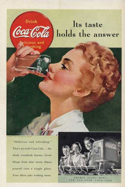 1930s Coca Cola Advertising