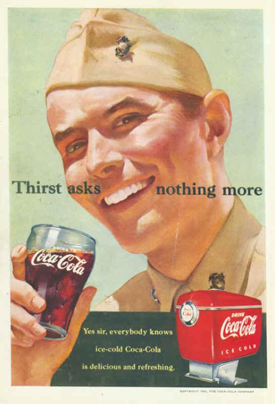1950s Coca Cola Advertising