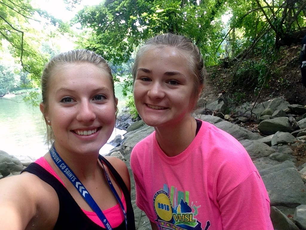 Friendships are built while while hiking 3 miles