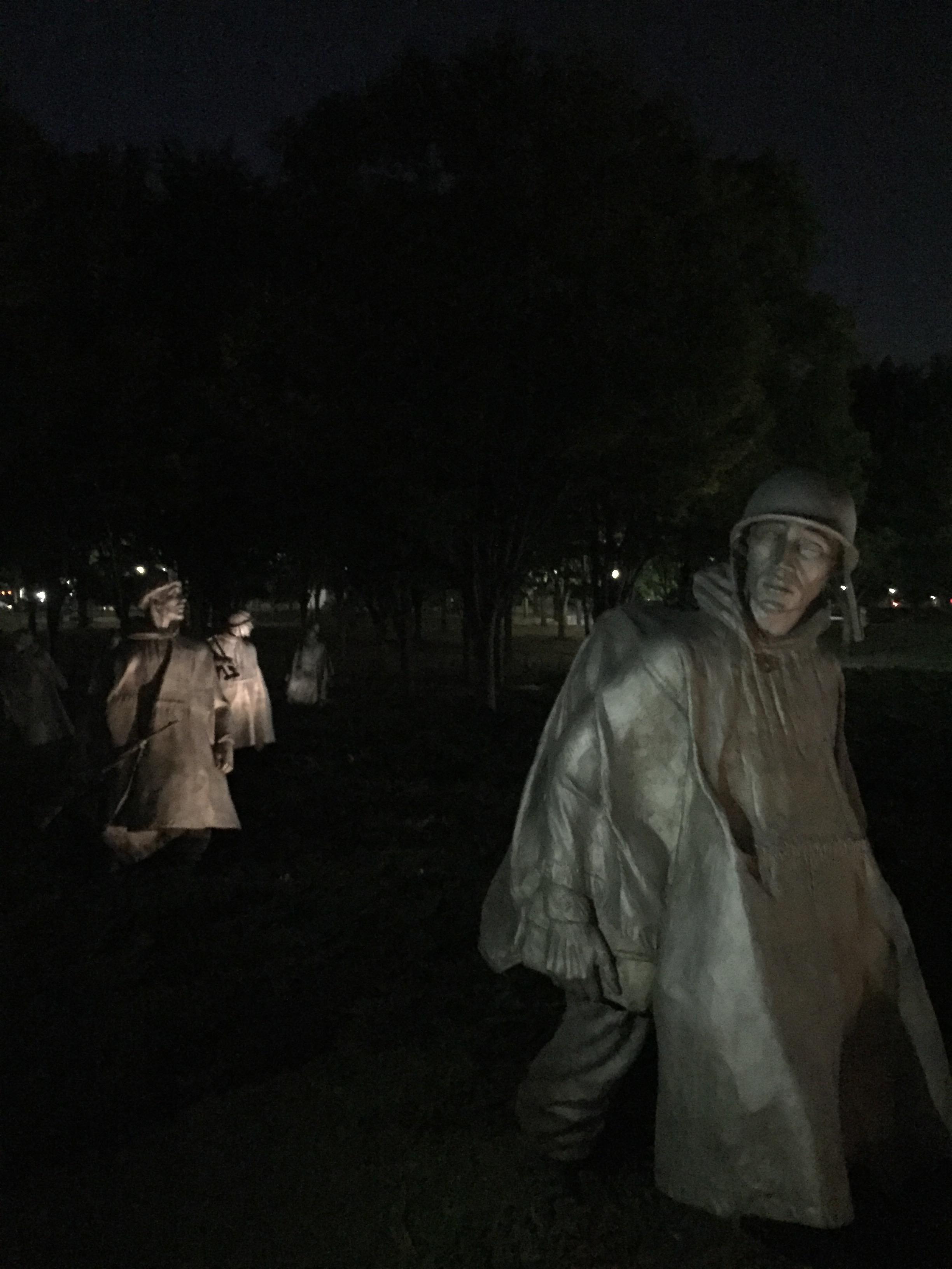 Korean War Memorial - Abstraction or reflection