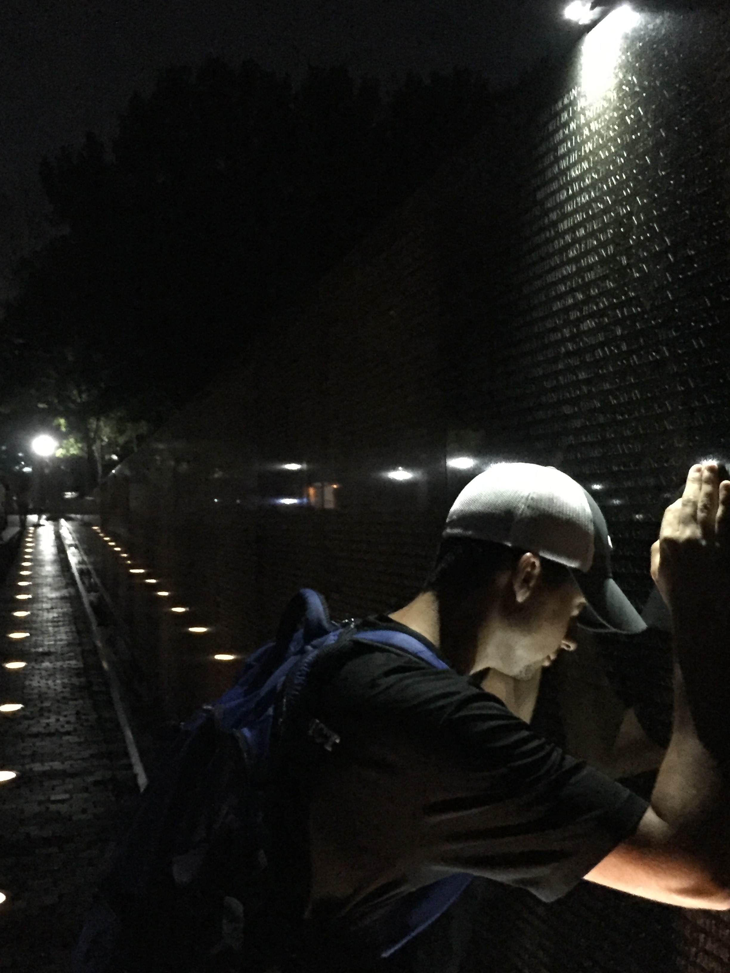 Vietnam Memorial - closeup