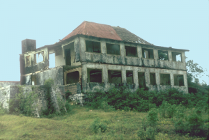 ruins of a great house
