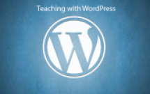 Group logo of Teaching with WordPress